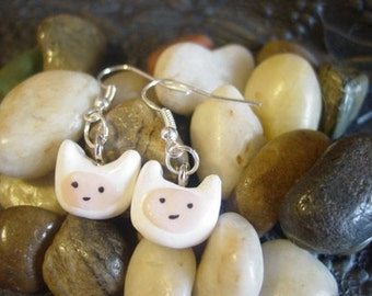 Adventure Time Finn Earrings