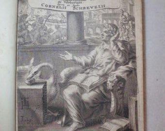 Rare volume 1 & 2 PUBLII VIRGILII Maronis 1669 XVII th century