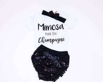 Mimosa hold the Champagne 3 Piece Outfit