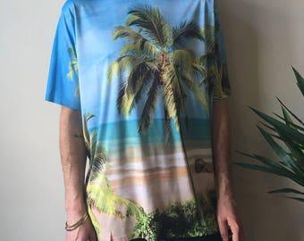 Palm Tree/Beach shirt