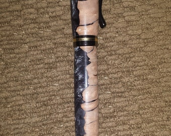 Handcrafted Unique Hybrid Acrylic and Wood Pen