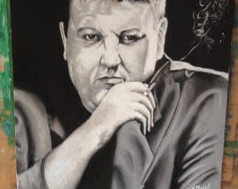 Portrait of Robbie Coltraine