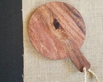 Natural Wood Cheese Board