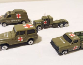 1981 M.A.S.H Toy Truck Lot