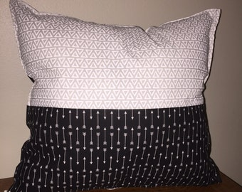 Decorative Pillow Black & White