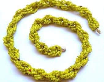 Beaded Necklace, Maasai Necklace