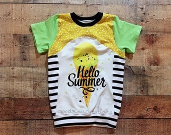Hello Summer Top - Size 5T
