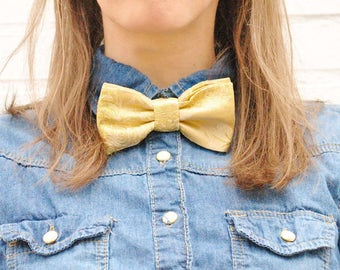 Golden bow tie bow ties