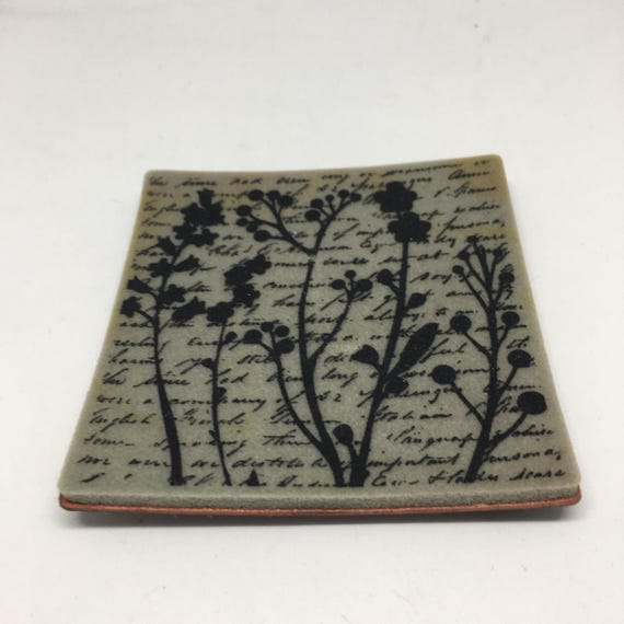 Rubber stamp words and flowers cling stamp for Rubber stamps arts and crafts
