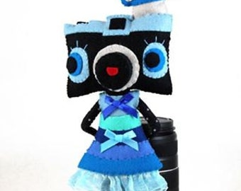Diana camera custom doll