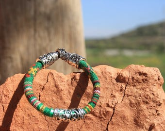 Ethnic, String Bracelet Peruvian woven, unisex.