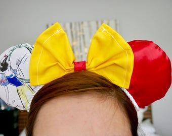 Snow White Minnie Ears | Mickey Ears |