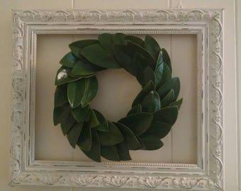 Mini magnolia wreath