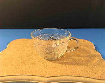 Cut Glass Party Punch Cup