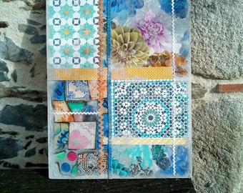 Table in recycled fabrics