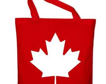 Canada Canada Maple Leaf Maple cotton bag tote bag