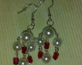 Chandelier style dangle earrings