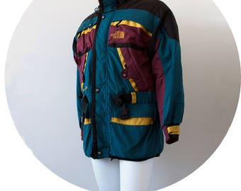 NORTHFACE Maroon Gore Tex Jacket