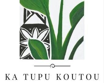 Ka Tupu Koutou (You Will Grow) | ᴅɪɢɪᴛᴀʟ ᴘʀɪɴᴛ | ᴍᴀᴅᴇ ɪɴ ɴᴢ | ᴘʀɪɴᴛᴀʙʟᴇ ᴘᴏꜱᴛᴇʀ | ʙᴏᴛᴀɴɪᴄᴀʟ ᴡᴀʟʟ ᴀʀᴛ | ᴍᴏᴅᴇʀɴ ᴍɪɴɪᴍᴀʟɪꜱᴍ | Green Black White