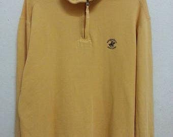 Vintage 90's Polo Club Sweatshirts Half Zipper Size L