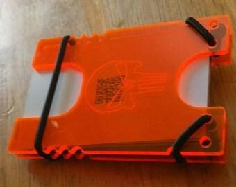 Acrylic Shock Wallet, various/custom designs