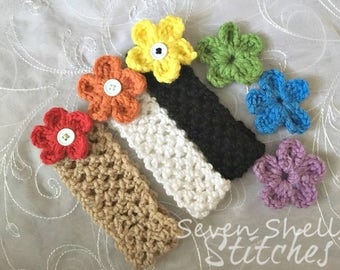 Customizable Crochet Headband Set