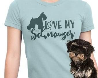 Love my Schnauzer, Schnauzer SVG, svg for Cricut, vinyl template, dog lover svg, instant download, dog lovers SVG, svg cuttable