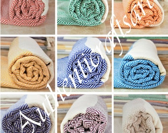Turkish Towel, Turkish Bath Towel, Turkish Beach Towel, Bath Towel, Beach Towel, Hammam Towel, Turkish Pestemal, Cotton Towel, Organic Towel
