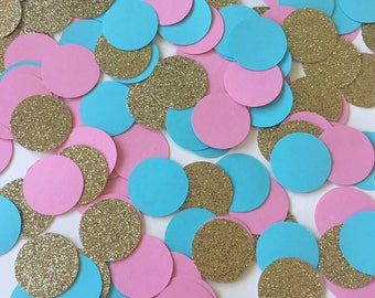 Gender Reveal Confetti, Pink and Blue Confetti, Blue and Pink Confetti, Gender Reveal Party,Gender Reveal, Baby Shower, Baby Shower Confetti