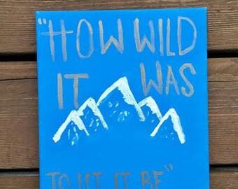 How Wild it Was- Cheryl Strayed