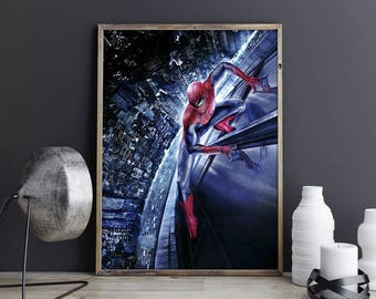 Spiderman Wall Decor spiderman poster | etsy