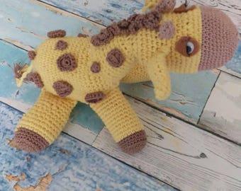Crochet Amigurumi Stuffed Giraffe