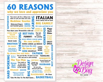 60 Reasons Why We Love You - Poster