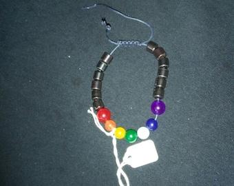 chakra bracelet non magnetic hematite