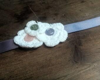 Crochete Floral Head band