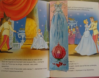"Mark pages done hand ""Cinderella"", ""Princesses"", art drawing print bookmark Collection"