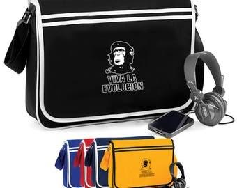Viva La Evolution Guevara Monkey - Retro Shoulder Bag