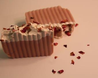 Bee Sweet Soap - Moisturizing Face Soap - Anti-aging Soap - Mild Soap - Pink Clay Soap - Clay Soap - Pink Kaolin Clay Soap - Dry Skin Soap