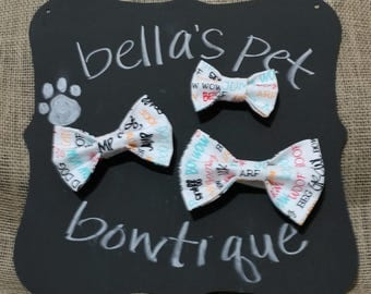 Bow wow bow tie