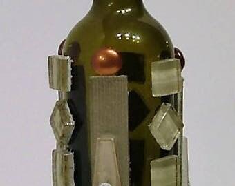 Decanteur bottle art