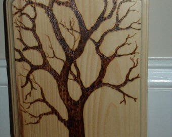 Tree wall plaque