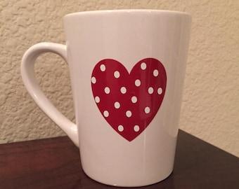 Heart Coffee/Tea Mug