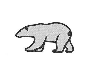 polar bear Embroidery file Digital embroidery files Machine embroidery
