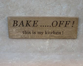 bake off sign