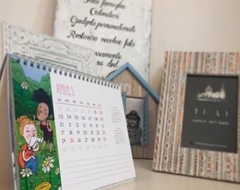 Desk calendar/desk calendar