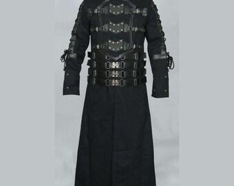 Gothic hellraiser long coat