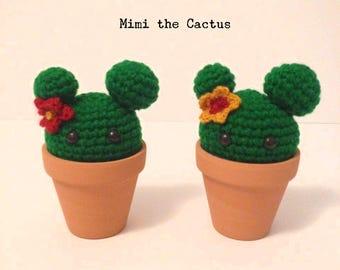 Mimi the Mousy Cactus Amigurumi