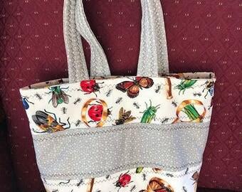 Piecework book bag for your bug-lovin boy!
