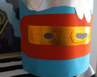 Handmade Lampshade Pirate Captain