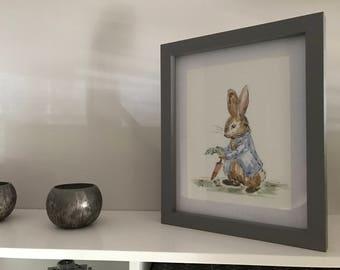 Hand Painted Peter Rabbit